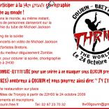 photo de Thrill the world Gourin